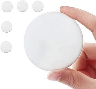 Wall Protector Self Adhesive 5-Pack - Door Handle Stopper Set. 5 Pieces of White Silicone Doorstop Knob - Door Guard Bumpe...