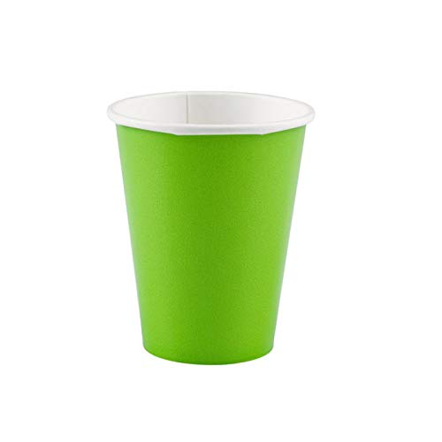 PARTY DISCOUNT Becher Kiwi, 266 ml, 8 STK.