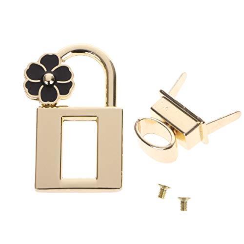 llwei258 Nieuwe metalen sluiting Turn Lock Twist Locks voor DIY handtas handwerk tas portemonnee hardware
