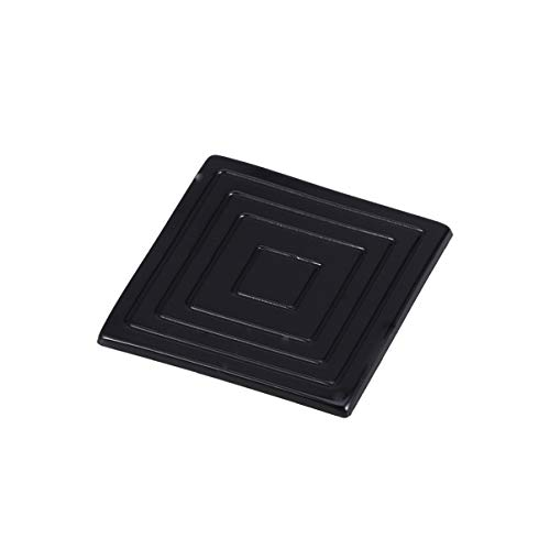 NUOBESTY 4pcs Black Silicone Table Feet Bumpers Pads Floor Protectors Furniture Feet Pads Protect Your Floor