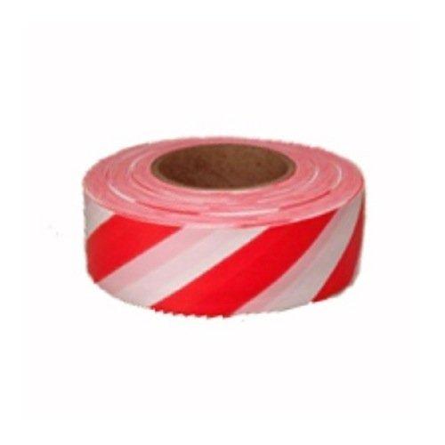 CH Hanson 17025 Standard Red/White Stripe Flagging Tape (Case of 12) by CH Hanson