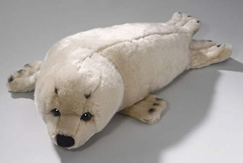 """Uni-Toys """"Seehund"""" cremefarben, Robbe Plüschtier, Größe: 45cm"""