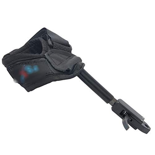 Lvguang Universal Adult Bogenschießen Handgelenk Release Compoundbogen Verstellbare Auslöser für Bogenschießen Bogen (As Photo, 27 cm * 12.5 cm * 2.7 cm)