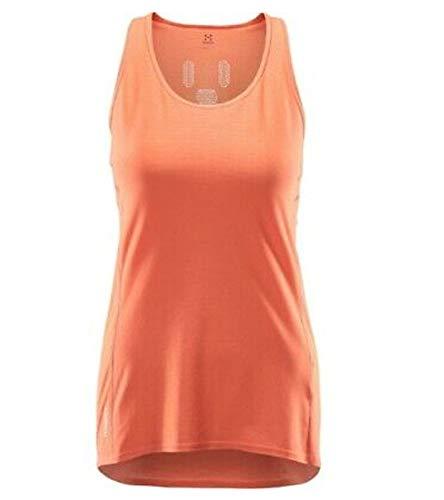 Haglöfs L.I.M Tech - Haut sans Manches Femme - Orange Modèle XS 2018 Tank Tshirt