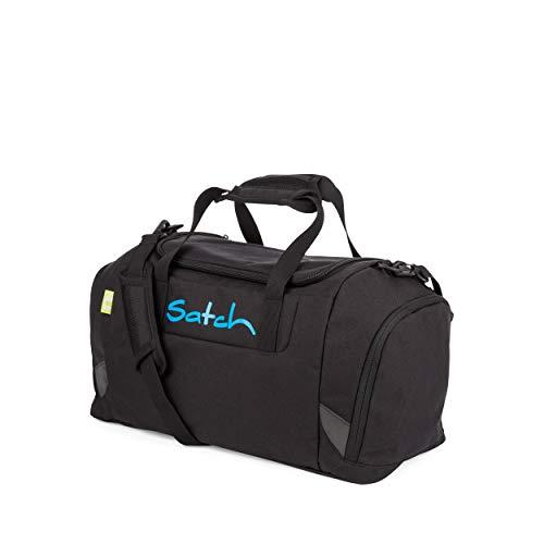 Satch Sporttasche - 25l, Schuhfach, gepolsterte Schultergurte - Black Bounce - Black