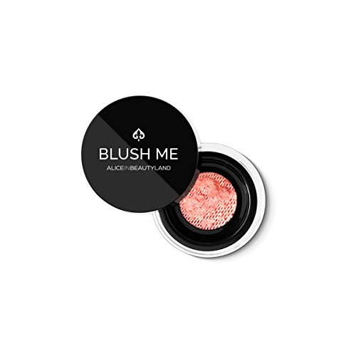 Mineral Blusher Handcrafted with Diamond and Gemstones Powder BLUSH ME - 100% Natural. For All Skin Types. Irresistible colours - Curious - 3g by Alice in Beautyland