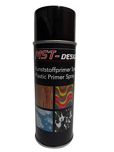 MST-Design Kunststoffprimer I Kunststoffhaftvermittler I Plastic Primer I Grundierung Spray 1x 400 ml