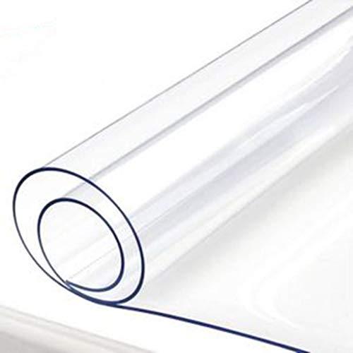 WZNING Verdicken Außen Soft-Transparent PVC-Plane Balkon occlude Persenning Kunststoff Leinwand Regenschutz Artefaktfenster Windsicher Langlebig und schützend (Color :...