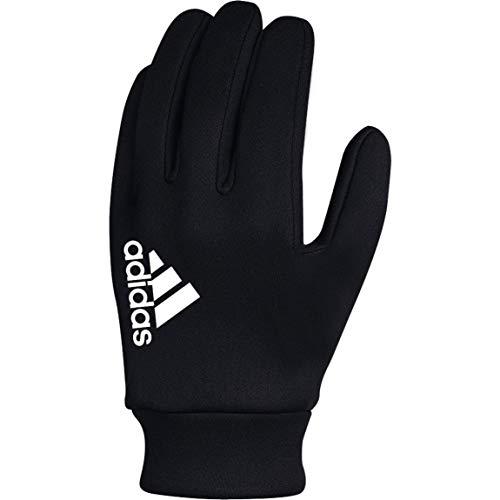adidas Fieldplayer CP Soccer Gloves, Black/White, 9