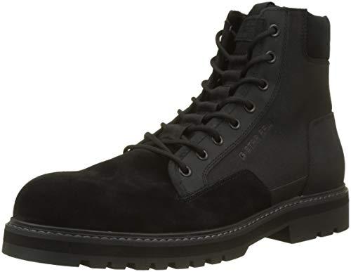 G-STAR RAW Herren Powel Boot Klassische Stiefel, Schwarz (Black 990), 42 EU