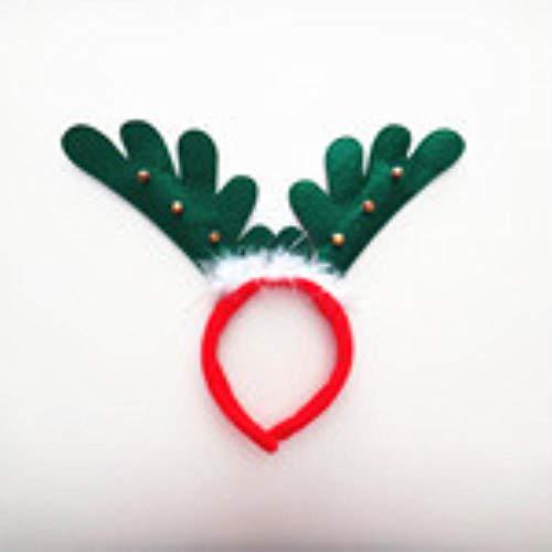 Juranting Kerst Headdress Veer Kleine Bell Herten Hoofdband Yiwu Haaraccessoires Groothandel Prestaties Leveringen Fabriek Directe Verkoop