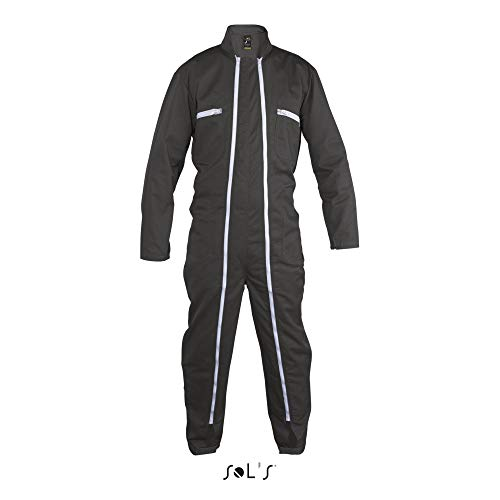 SOL´S ProWear - Workwear Overall Jupiter Pro L (46/48),Dark Grey (Solid)