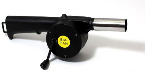 Barbecue Grill ventilateur ventilateur allume handgebläse grillföhn BBQ fan manivelle