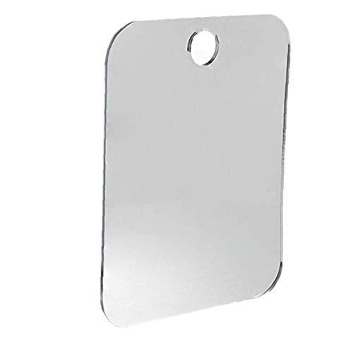 Haushalt Anti-Fog Dusche Spiegel Badezimmer Fogless Nebel Freier Spiegel Washroom Reise Spiegel (zufällige Farbe)
