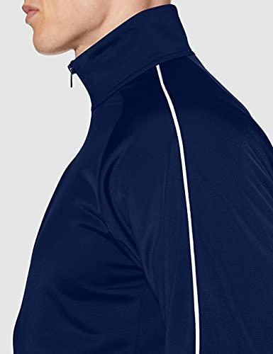 Adidas Men Core 18 Jacket - Dark Blue/White, 3X-Large