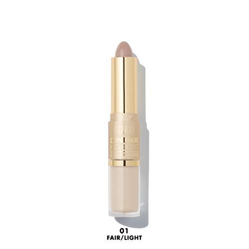 MILANI Contour & Highlight Cream & Liquid Duo - Fair/Light