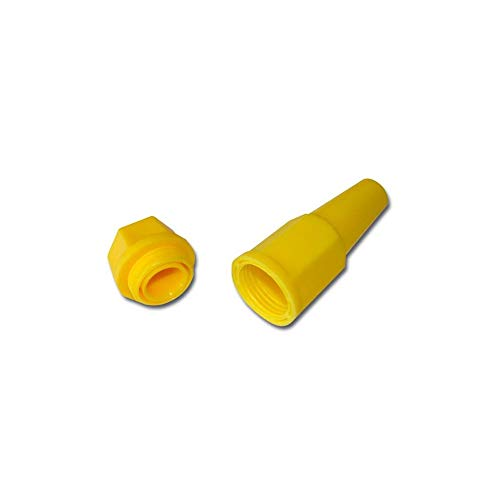 BHaar kandelaar, geel