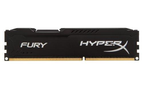 HyperX HX313C9FB/8 Fury Schwarz Arbeitsspeicher, DDR3, 8GB, 1333MHz, CL9, DIMM