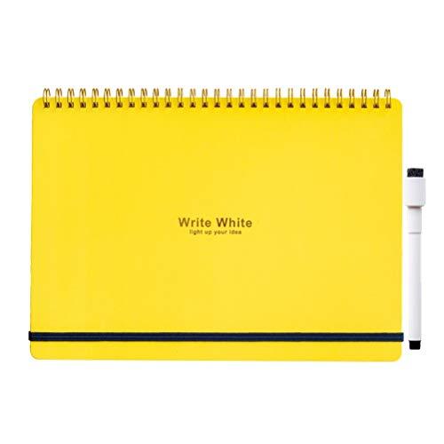 学研ステイフル ww ホワイト ホワイトボードノート ボード ノート b 5 イエロ