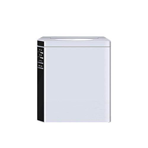 NBLL Haushalts-Stumm-Eismaschine, tragbare Kugel-Eismaschine, Mattes Silber, Edelstahl, Haus, Teeladen, Café, Theke.