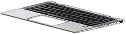 Comp XP New PTK for HP Probook 450 G6 Palmrest Touchpad with Keyboard L45093-001 L45091-001