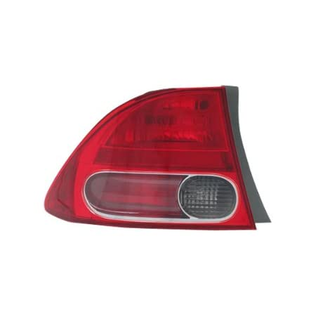 TYC 09-11 Civic Coupe Taillight Taillamp Rear Brake Light Left Driver Side LH