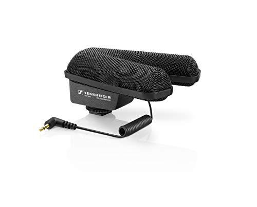 Sennheiser MKE 440 – professionelles Stereo-Richtmikrofon für Kameras, schwarz