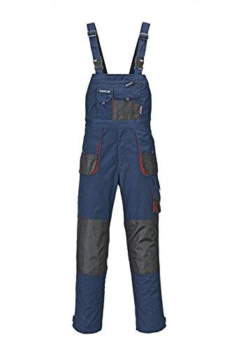 Terratrend Job Herren Latzhose Latzhose 3229-50-7410 Marine blau schwarz Gr. 50
