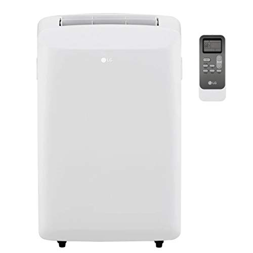 LG LP0817WSR 115V Portable Air Conditioner with Remote Control in White for Rooms up to 150-Sq. Ft. (Renewed)