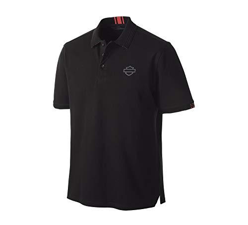 HARLEY-DAVIDSON Poloshirt Stretch Pique, L