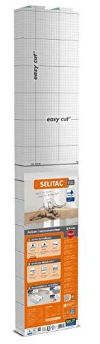 SELITAC 2,2 mm AquaStop - Trittschalldämmung für Laminat und Parkett mit Feuchteschutz (15 m²)