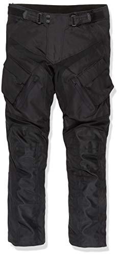 Herren Motorradhose mit Protektoren und Reflektoren – Textil Motorrad Hose für Sommer und Winter