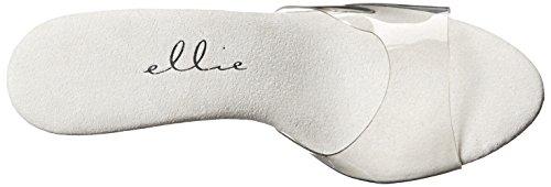 Ellie Shoes Women's 305-vanity Heeled Sandal, Clear, 8 M US