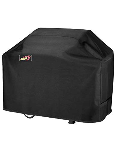 Price comparison product image OMORC BBQ Cover,  3-4 Burner Grill Cover Waterproof and Heavy Duty Barbecue Cover Fits Weber,  Char Broil etc.600D Oxford Fabric Rip-Proof,  UV & Water-Resistant(58 Inch / 147 cm)