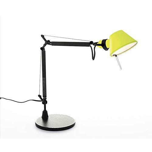 Artemide Tolomeo Micro BiColor Tafellamp, draaibaar, zwart/geel