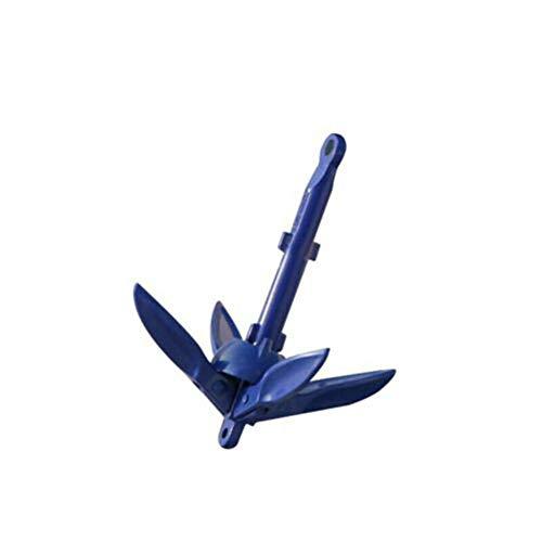 Pumpumly aluminio plegable barco ancla para canoa kayak pesca accesorios marinos velero