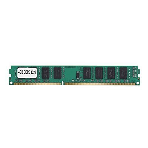 Pusokei PC3-10600 240PIN RAM DDR3 4GB 1333MHz para computadora de Escritorio para Intel/AMD, Memoria RAM DDR3 de Alta frecuencia, Plug and Play, no Requiere Controlador