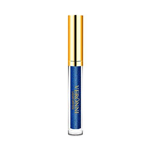 Auifor❤ 10 kleuren Womens Magic Glitter Flip Lippenstift Flip Pull Matte Pearl Lip Gloss Clu 05#