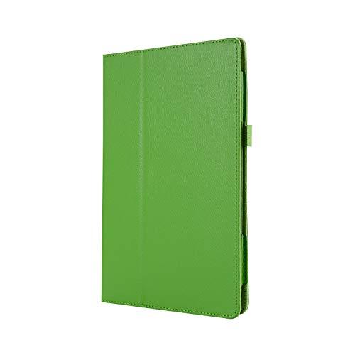 WindTeco Lenovo Tab3 8 / Tab 2 A8-50 Funda - Ultra Delgado y Ligero Carcasa Smart Case Cover con Función de Soporte para Lenovo Tab 3 8 (TB3-850F / TB3-850M) / Tab 2 A8-50 8,0 Pulgadas Tableta, Verde