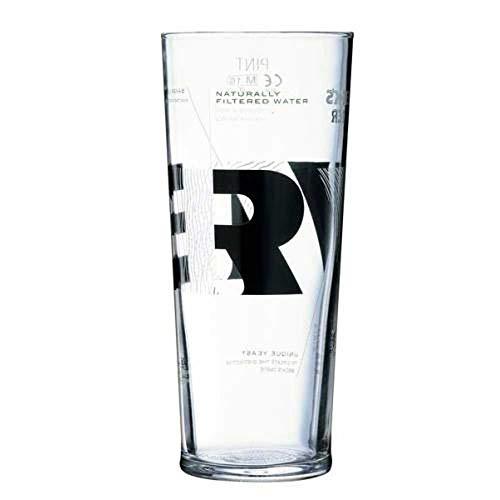 TUFF LUV Ursprüngliche Bierglas/Gläser/Barbedarf [50cl] Für (Becks Vier)