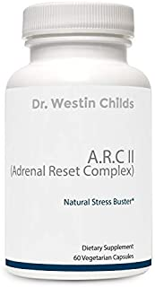 Dr. Westin Childs - A.R.C II (Adrenal Reset Complex) - Adrenal Support Supplement Designed Especially for Hypothyroid Patients containing Relora, Ashwaganda & More - Vegan & Non-GMO - 30 Day Supply