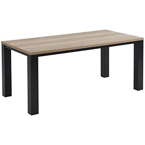 mokebo® Esstisch 'Der Heimathafen' Tisch, Vintage Wohnzimmertisch in Halifax Eichenoptik, Made in Germany | 139x77.5x90 cm (B/H/T)