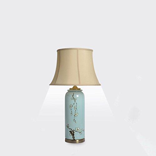 Moderne creatieve woonkamer studie slaapkamer hand geschilderd pastel prachtige keramische bureau lamp