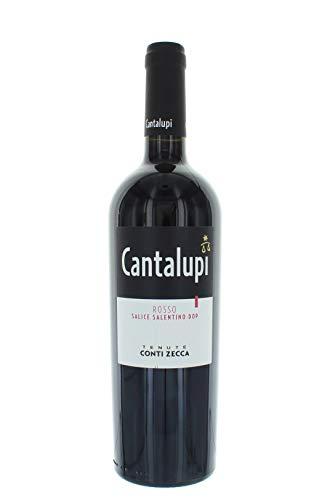 """Salice Salentino rosso """"Cantalupi"""" Conti Zecca 2014"""
