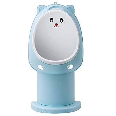 Hallo Potty Training Urinal Boy Urinal Kids Toddler Pee Trainer Bathroom Funny Baby Training Potties?Blue)