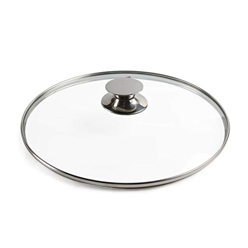 Tapa Sarten Reemplazo Pan Tapa transparente tapa de vidrio cazo for adaptarse...