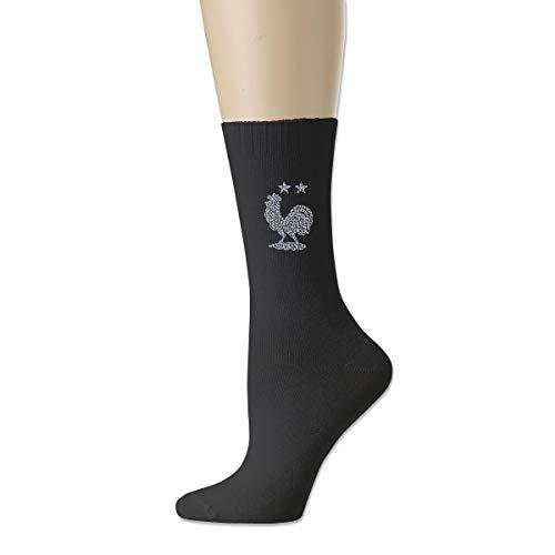 Xlajg5915 Football Team Logo of France Cotton Socks for Men, Socks for Women,Novelty Sock Unisex
