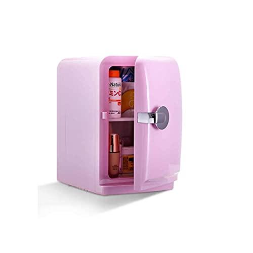 DFJU Geladeira Mini Dormitório 5L Alugar Dormitório Estudantil Pequeno Geladeira Freezer Pequena Geladeira Car Home Geladeira pequena durável (Cor: Branco)