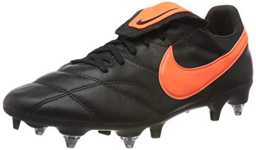 Nike Men's Premier II Anti-Clog Traction (SG-Pro) Soft-Ground Football Boot, Botas de fútbol Unisex Adulto, Multicolor (Black/Hyper Crimson/Black 80), 46 EU