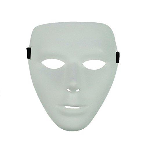 EmazingLights White Masquerade Hip-Hop Dance Party Phantom Mask